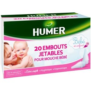 HUMER EMBOUTS JETABLE MOUCHE BEBE