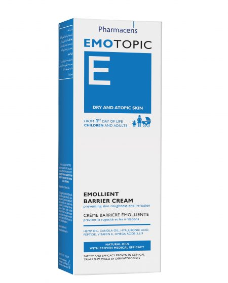Emolient cream box